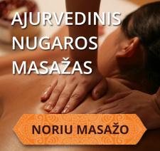 Ajurvedinis nugaros masažas Kaune