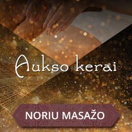 Švelnios prabangos masažo ritualas su auksu Kaune